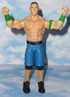 WWE JOHN CENA MATTEL BASIC SERIES 24 LOOSE JAKKS WRESTLING ACTION