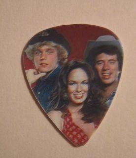 Hazzard Guitar Pick Bo Luke Daisy John Schneider Tom Wopat New