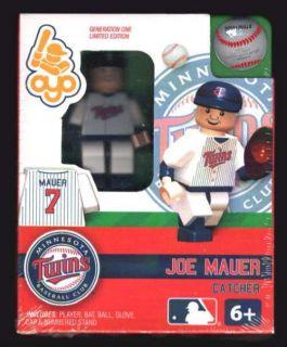Joe Mauer Lego Minifigure Minifig Baseball OYO024