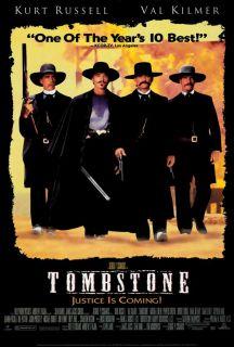 Tombstone Movie Poster 27x40 B 1993 Kurt Russell Val Kilmer Michael