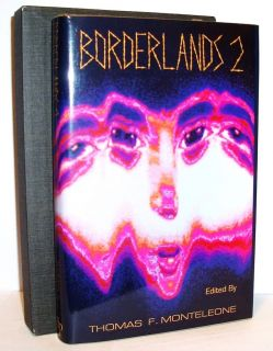 BORDERLANDS 2 SIGNED JOE R. LANSDALE FIRST EDITION HC DJ SLIPCASE