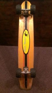 Joel Tudor Think Skateboards Pro Model Longboard Mountain circa 1994