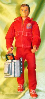 Vintage Six Million Dollar Man Lee Majors Bionic Man Action Figure