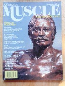Muscle Builder Bodybuilding Magazine Joe Weider Statue 11 79