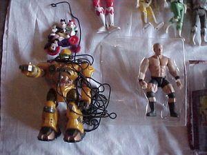 Toys Figurines from the 1990s Star Wars Power Rangers GI Joe Kiss WWF