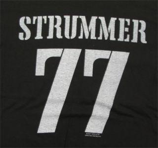 Joe Strummer 77 Clash T Shirt Official Fast SHIP