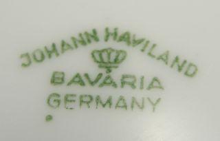 Johann Haviland Bavaria Blue Garland Fruit Bowl 5 1 8