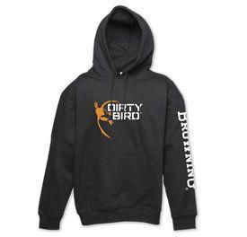 Browning Mens Dirty Bird Hooded Hoodie Sweatshirt Mens Black Duck