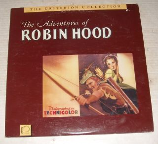 LASERDISC 1938 THE ADVENTURES of ROBIN HOOD ERROL FLYNN BASIL RATHBONE