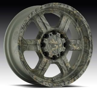 18 x 9 V Tec Offroad 326 Camo Realtree Chevy Dodge GMC Wheels 18