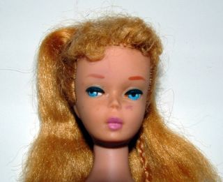 1960s Blonde 4 Barbie Doll 944 Masquerade Near Complete