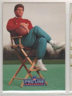 1991 Pro Line Portraits Joe Theismann