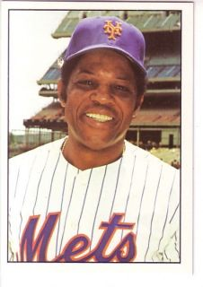 SSPC New York Mets Team Set 33 Willie Mays Tom Seaver Joe Torre