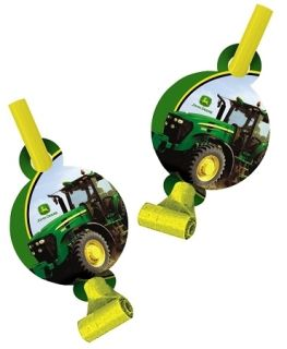 John Deere 8PC Blowouts Party Birthday New Style Blow Outs
