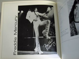 QUEEN Japan Concert Tour Book 1976 Freddie Mercury, Brian May, Roger