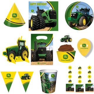 New John Deere Birthday Party Supplies Tractor Farm Free Shipping Mix