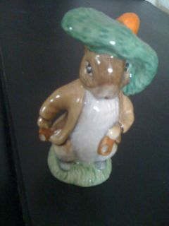 Doulton Mr Benjamin Bunny figurine Ex cond 4 in tall John Beswick