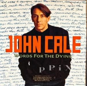 LP John Cale Words for The Dying 1989 Opal Promo