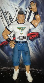 WWE John Cena Ruthless Aggression Wrestling Action Figure Lot Jakks