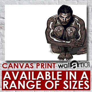 John Abraham Black and White Crayon Effect 2 High Quality Framed