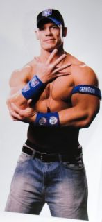 John Cena Wall Sticker Fathead Fat Head WWE Wrestling