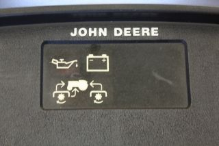 John Deere Dash / Instrument Panel from a Salvaged JD 316