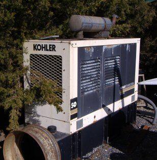 Kohler 50KW Generator John Deere