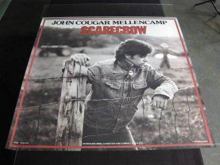 John Cougar Mellencamp Scarecrow Promo Poster 1985