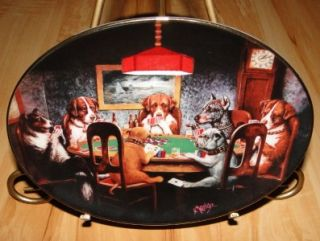 An Ace in the Hole Brown & Bigelow Franklin Mint Puppy Dog Poker Card