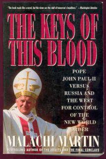 Keys of This Blood Book Pope John Paul II Russia Jesuit