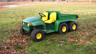 John Deere Gator 6x4 Professional Rebuilt Engine and New JD Parts