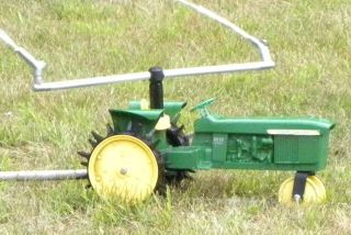 John Deere 4010 Diesel Tractor Traveling Sprinkler Works Great