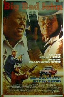 Promo Movie Poster Big Bad John Jimmy Dean