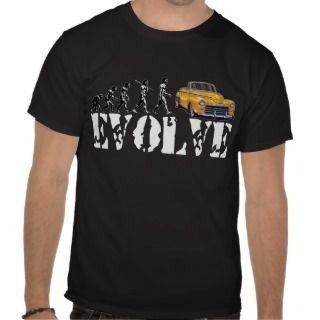 Hot Rod Street Rod Driver Evolution Shirts
