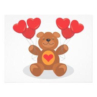 Teddy Heart Flyers