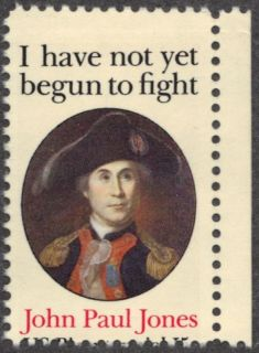 US 1979 15¢ John Paul Jones Error US Bicententennial