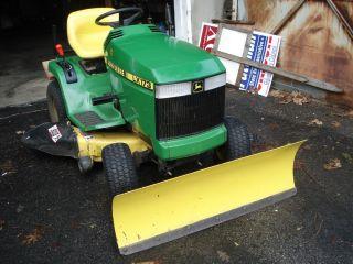 John Deere LX 173 Lawn Tractor Mower Front Blade Mulch Kit