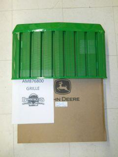 John Deere Front Hood Grille Part 670 770 790 870 970 990 1070 AM876800