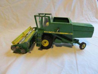 John Deere Combine Vintage Toy