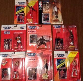Starting Lineup Chicago Bulls Michael Jordan Dennis Rodman John Paxson More