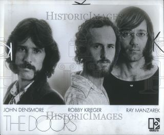 1971 Press Phoo Doors John Densmore Robby Krieger Ray |