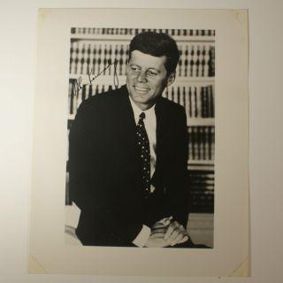 JFK John Kennedy 8x10 Autopen Signature Autograph