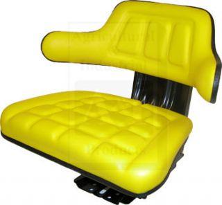 Universal Yellow John Deere Tractor Seat 1020 2955 Windrower 800 830 2250 2270