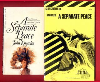 A Separate Peace by John Knowles Cliff Notes Study Guide