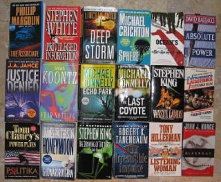 Wholesale Lots of 48 52 Quality Paperback Books Mystery Suspense Romance
