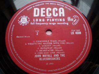 John Mayall Debut LP 1st UK PRS Unboxed Decca Mint Archive Copy Blues Rock Psych