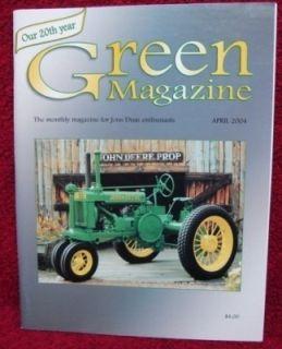 Green Magazine John Deere New Generation 3300 Combine