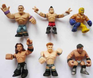 Lot of 6 Mattel WWE Rumblers Evan Bourne Sheamus John Morrison Justin Gabriel