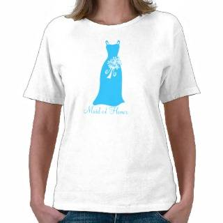 Maid of Honor Tee Shirts from Zazzle