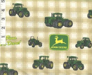 New Custom 3pc John Deere Infant Toddler Sheet S